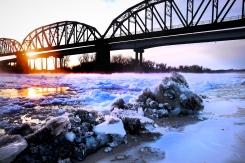 Missouri River from Optimist Park at Blair, NE