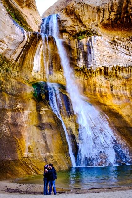 Lower Calf Creek Falls near Escalante, Utah