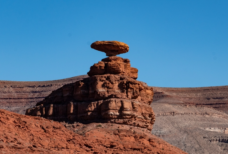 Mexican Hat stone formation