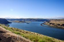 Columbia river at the Dalles.