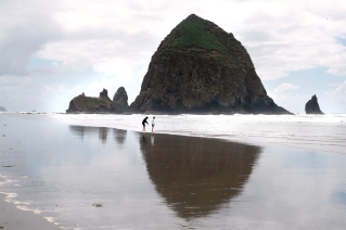 Haystack Rock on Cannon Beach, OR