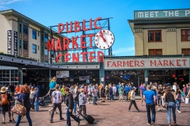 Pike Street Market, Seattle