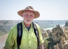 Joe Burns atop the White Cliffs