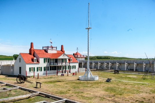 Bourgeois House inside Fort Union