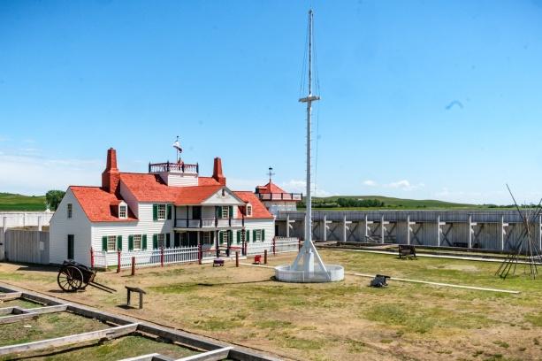 Bourgeois House inside Fort Union
