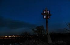 cross at twilight