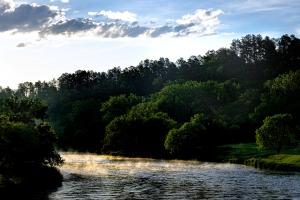 Niobrara river at Smith Falls SP
