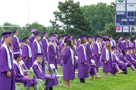 Scholarship recipients stand to be recognized.